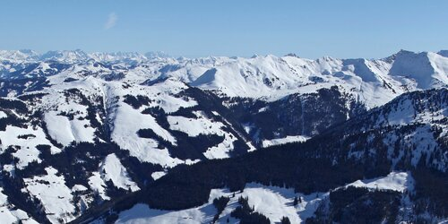 Ski area (view from the top)