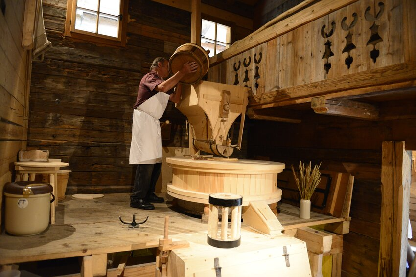Weikart corn mill in Alpbach