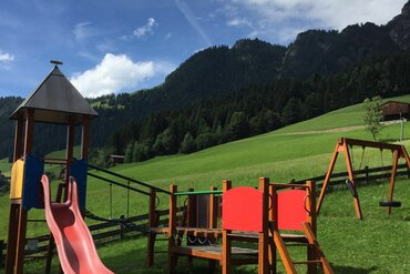 Playground in the village of Alpbach