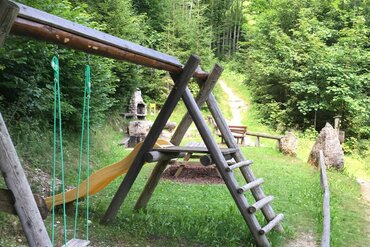 Playground, local history path in Alpbach