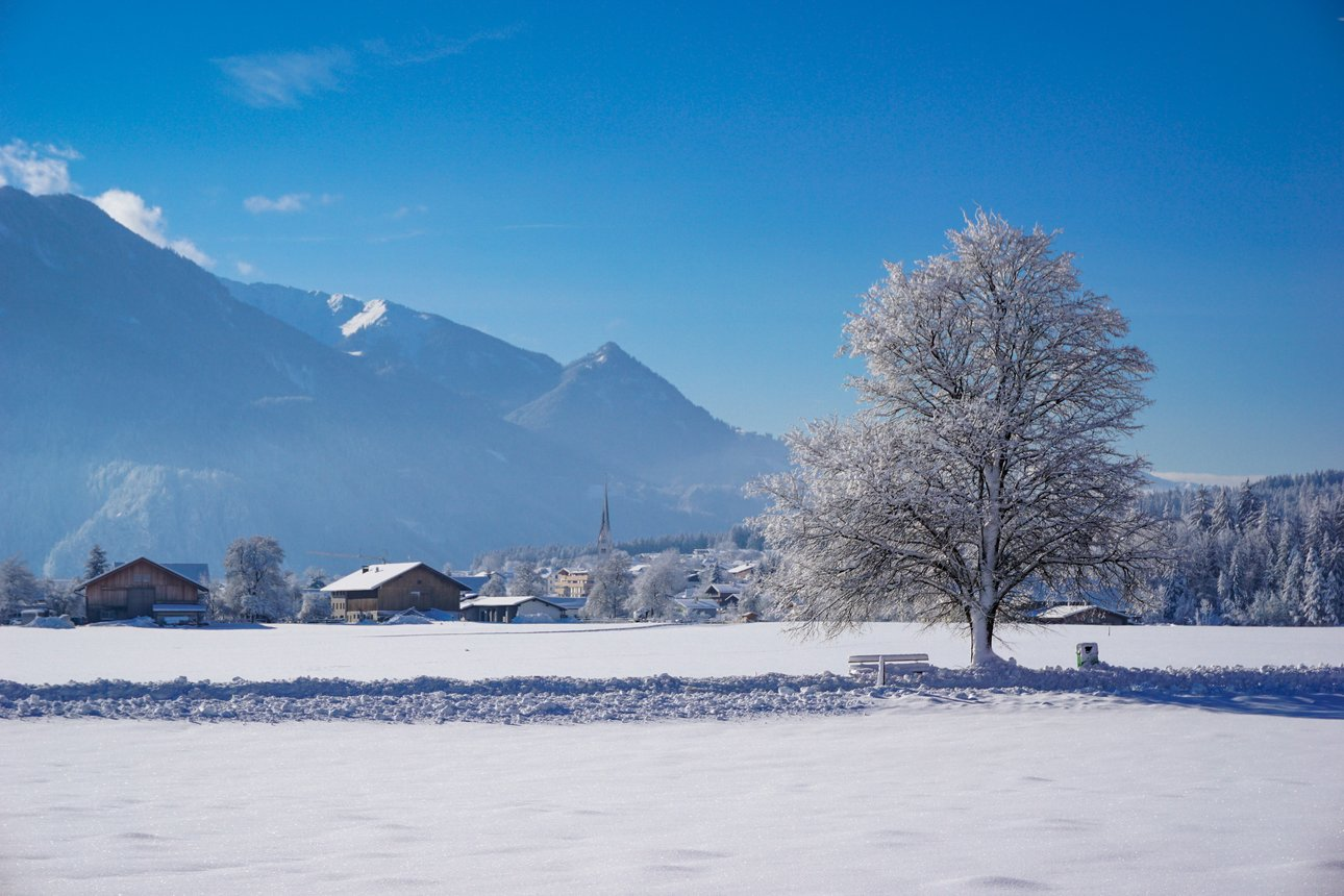 Winterspaziergang in Münster in Tirol