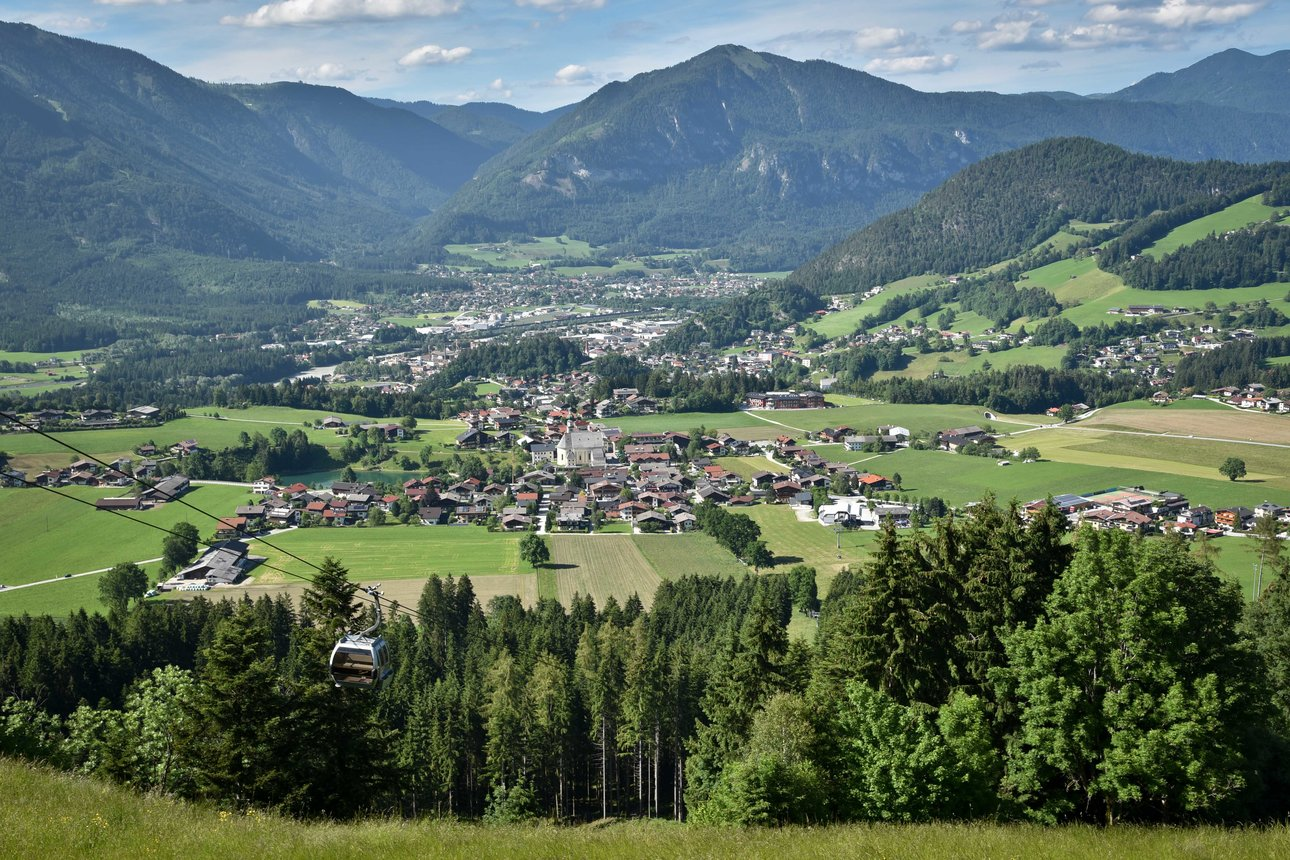 View from Reitherkogelbahn