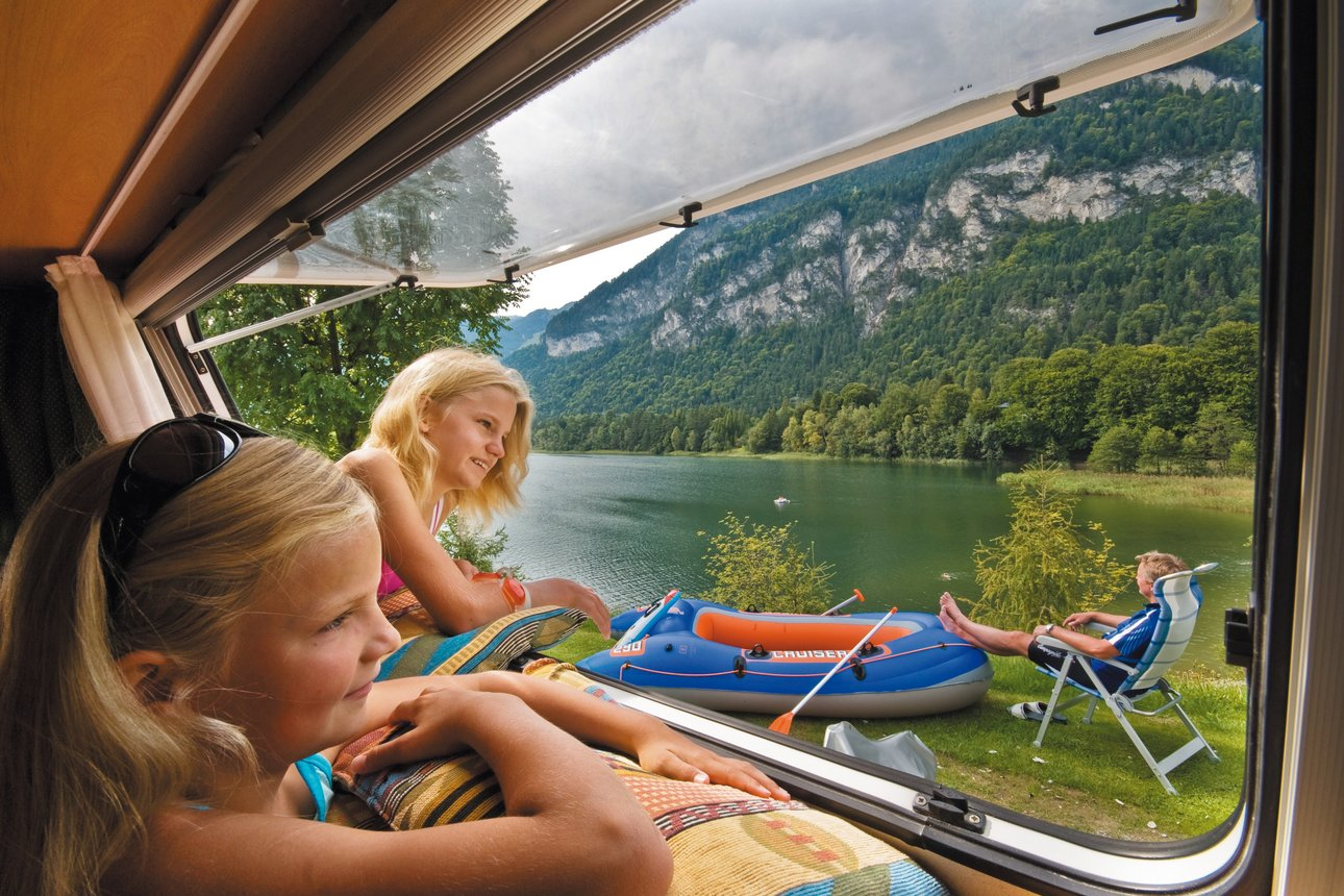 Camping at Reintalersee in Kramsach