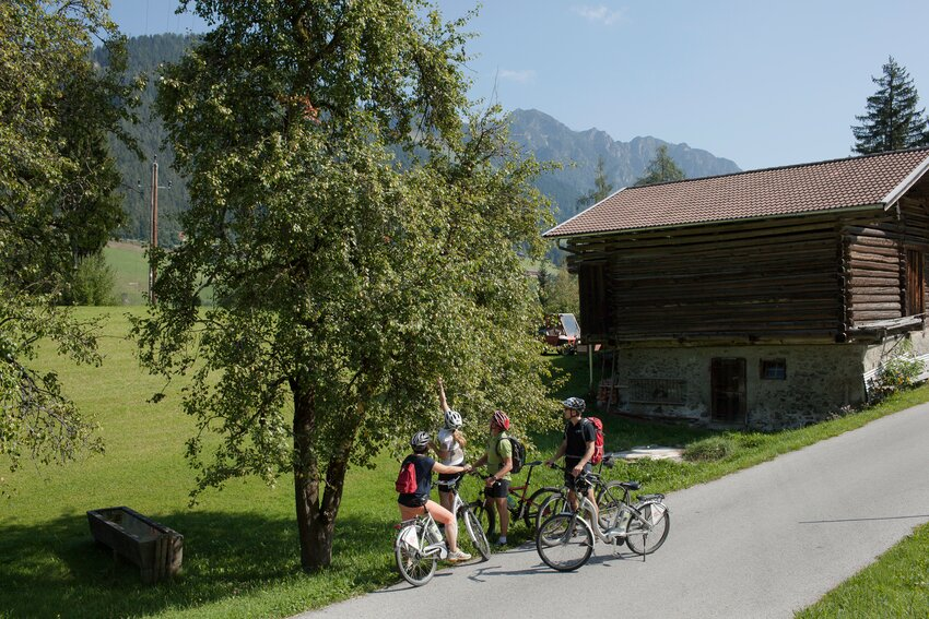 Comfortable cycling break in Alpbachtal