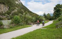 Cycling path in Rattenberg in Tirol