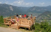 Viewing platform at Juppi's Zauberwald in Alpbachtal