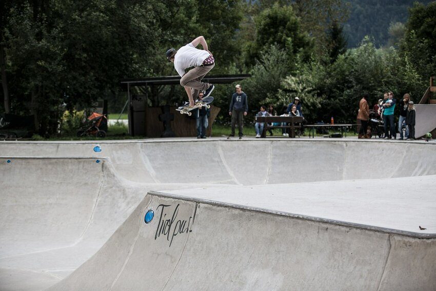 Skatepark The Cradle in Brixlegg | © Skate & Board Club 31