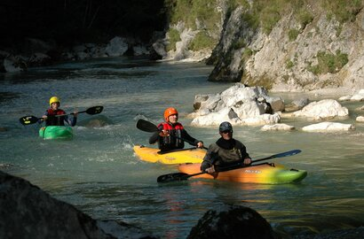Whitewater Fun in Alpbachtal - Kajak course