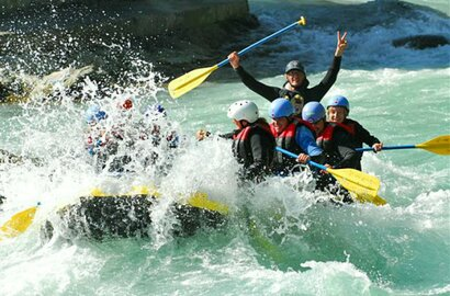 Rafting with Sport Ossi at Brandenberger Ache