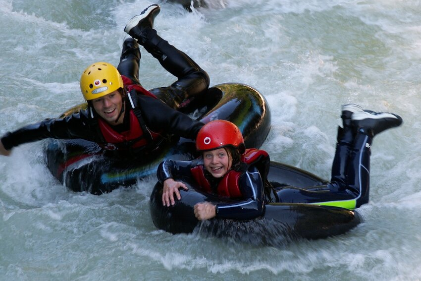 Whitewater Action at Brandenberger Ache