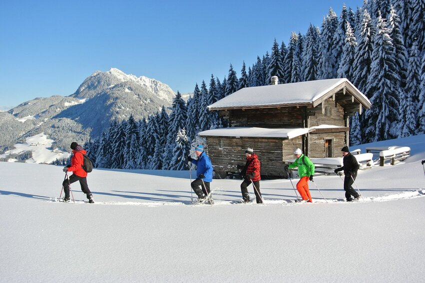 Snowshoe hiking tour in Reith im Alpbachtal