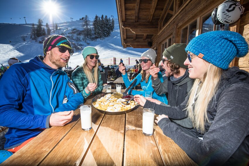 Luchbreak on the Wiedersbergerhorn Alpbach | © Ski Juwel Alpbachtal Wildschönau | shoot+style