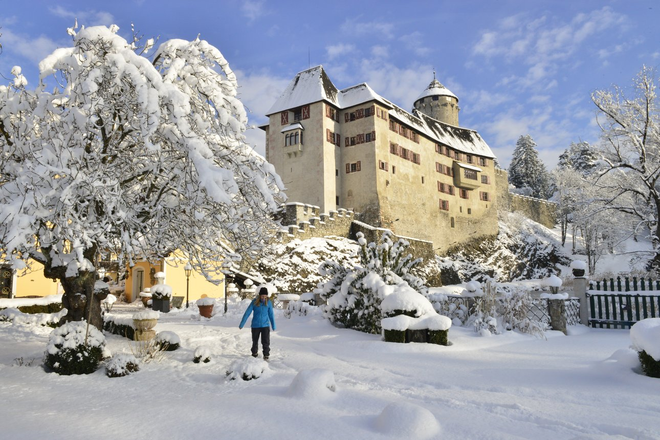 Winterwalk - Castle Matzen in Reith im Alpbachtal