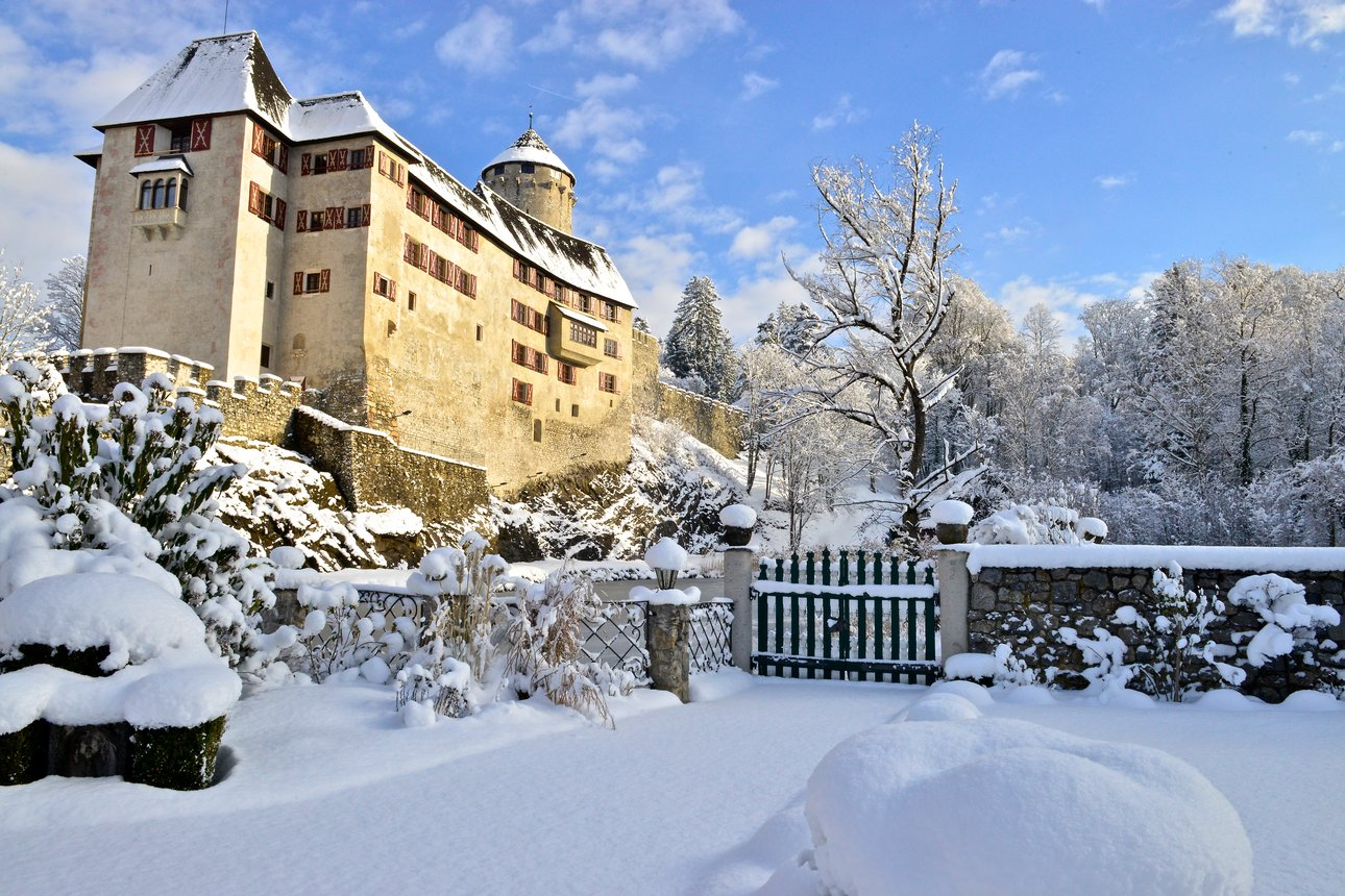 Castle Matzen in Winter