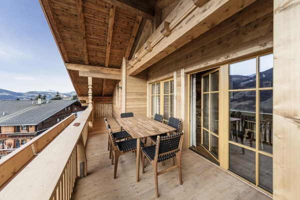 Alpbach Lodge Balkon | © Alpbach Lodge